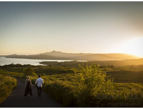 Triona & Shane pre wedding shoot before their day at The Brehon Hotel, Killarney