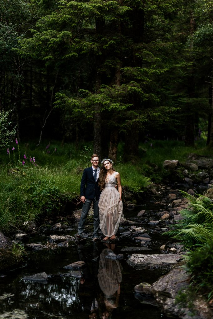 Best Cork wedding photographer gougane barra boho