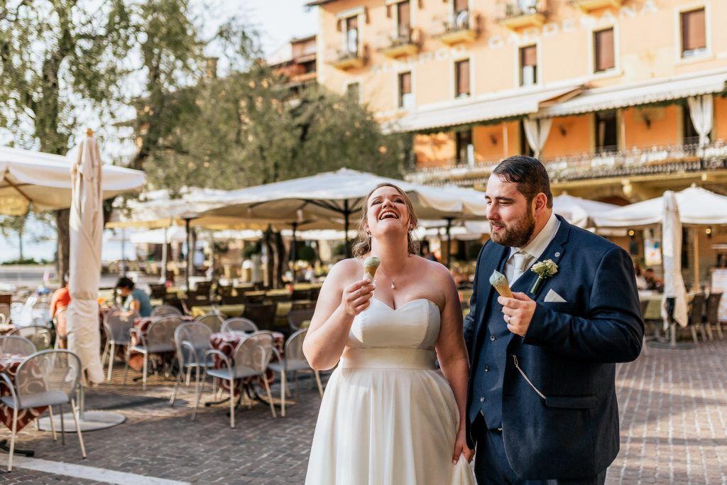 Best Cork wedding photographer Lake Garda couple