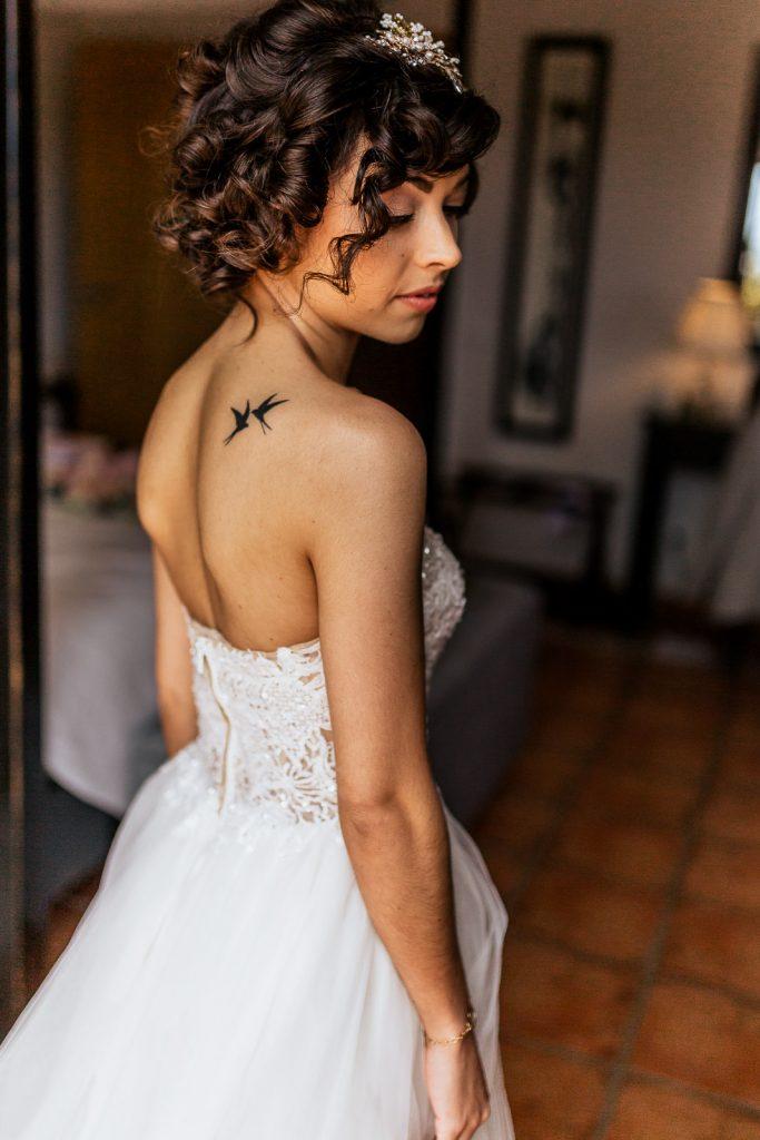 Qunita Bonita Algarve wedding venue bride