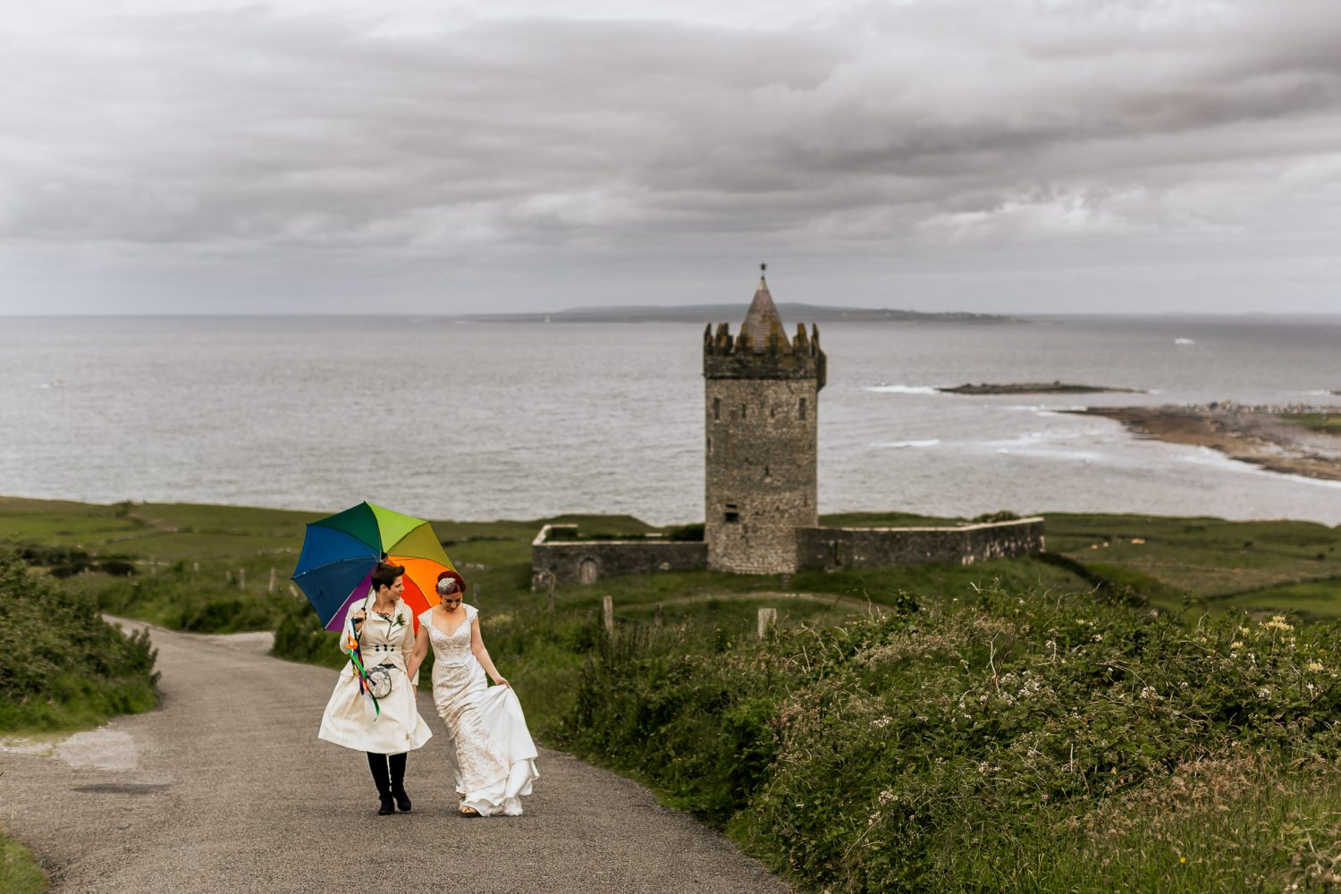 lesbian wedding photography Kerry Ireland