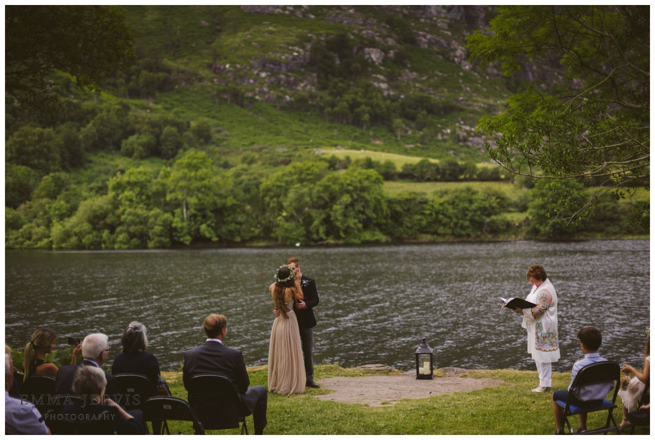Gougane Barra church wedding forest humanist