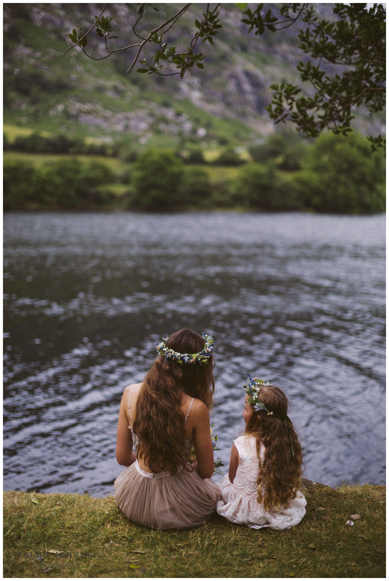 Gougane Barra church wedding forest boho bride
