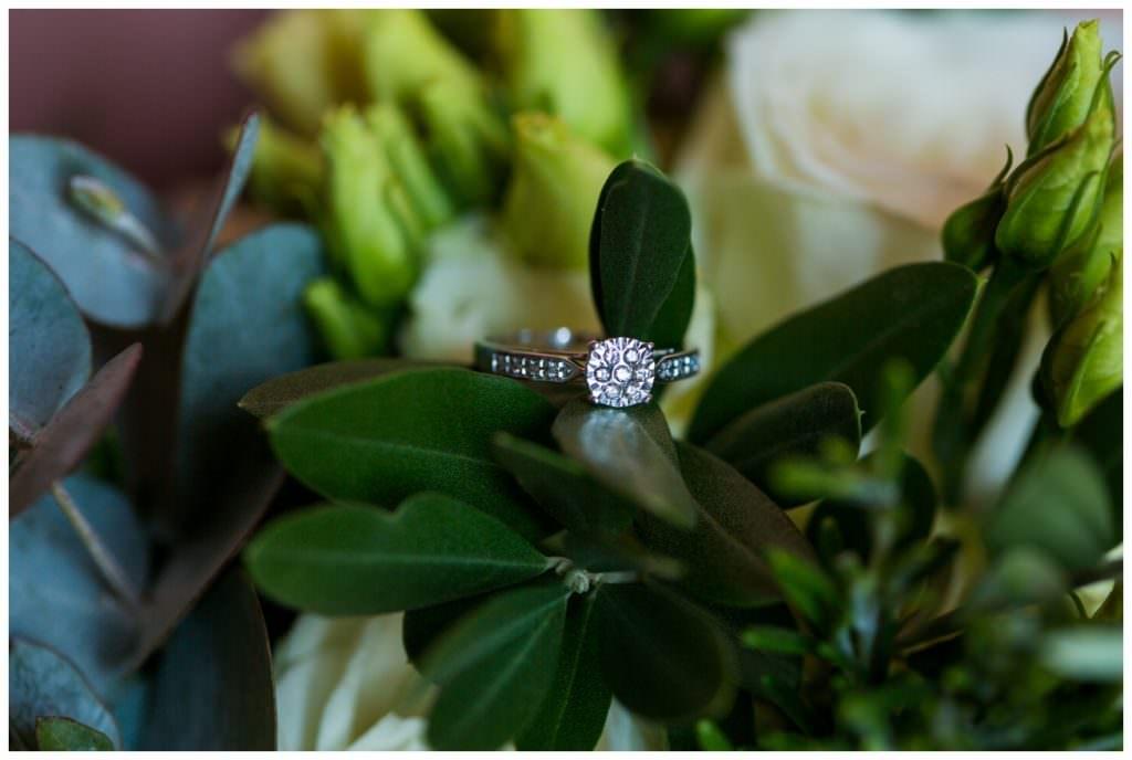 wedding ring with olive leaves italian wedding