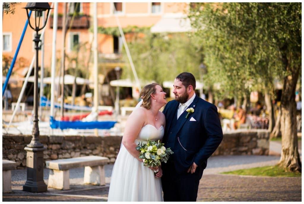 torri del benaco wedding couple lake garda