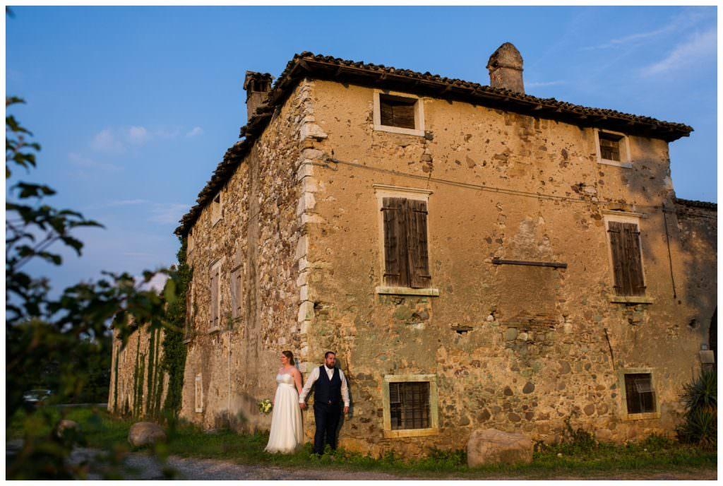 vineyard Tre Camini lake garda wedding venue