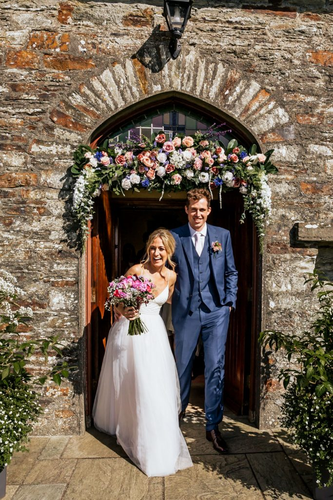West cork wedding venue couple married