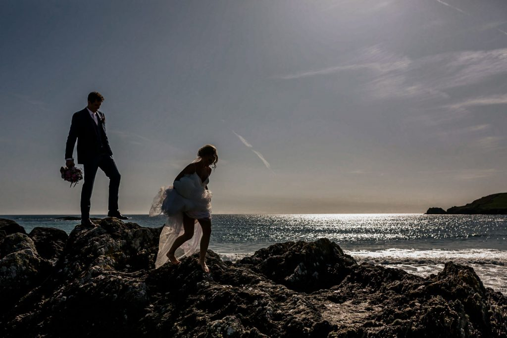 West cork wedding beach Drishane house