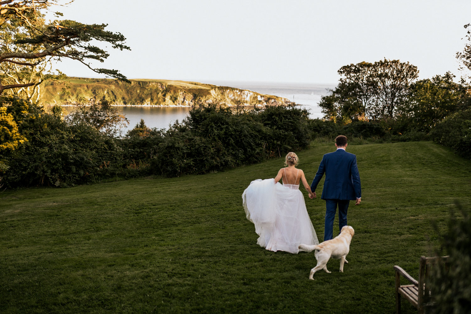 West Cork wedding venue Drishane House couple