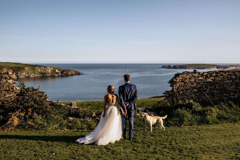drishane house, cork wedding photography, west cork wedding, west cork wedding photography, sunset wedding photography, emma jervis photography