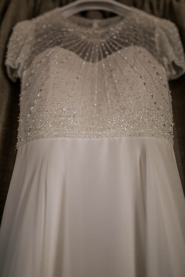 inchydoney lodge and spa wedding jenny packham dress