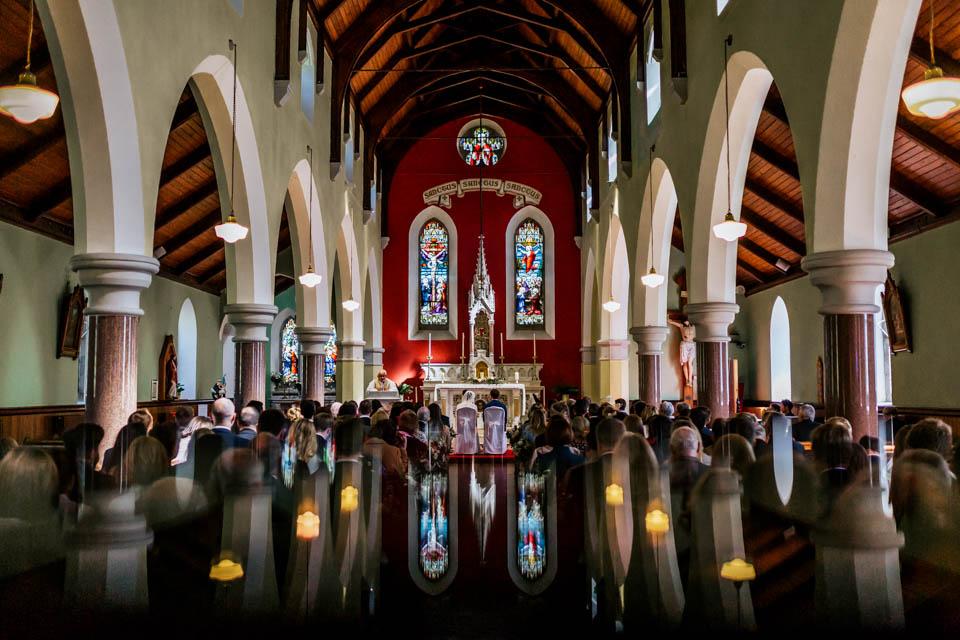 west cork church wedding ceremony