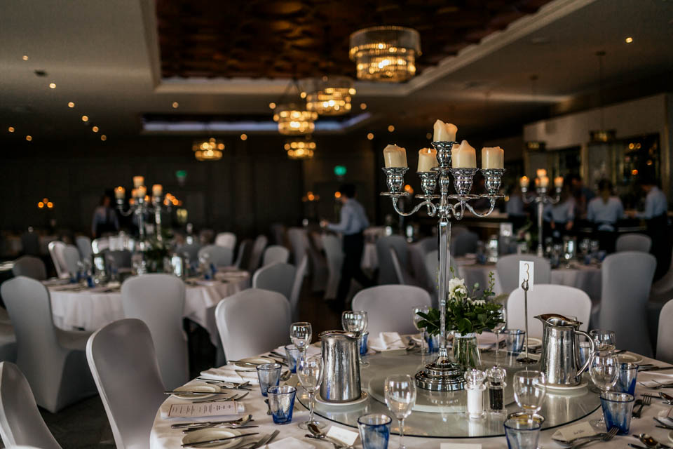 Inchydoney lodge and spa wedding ballroom