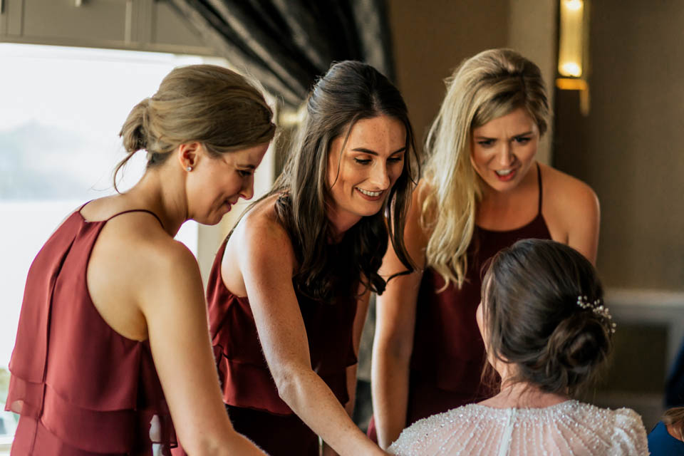 Inchydoney lodge and spa wedding bridesmaids