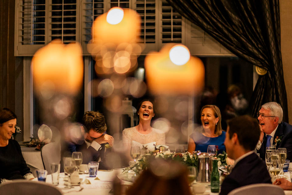 Inchydoney lodge and spa wedding speeches
