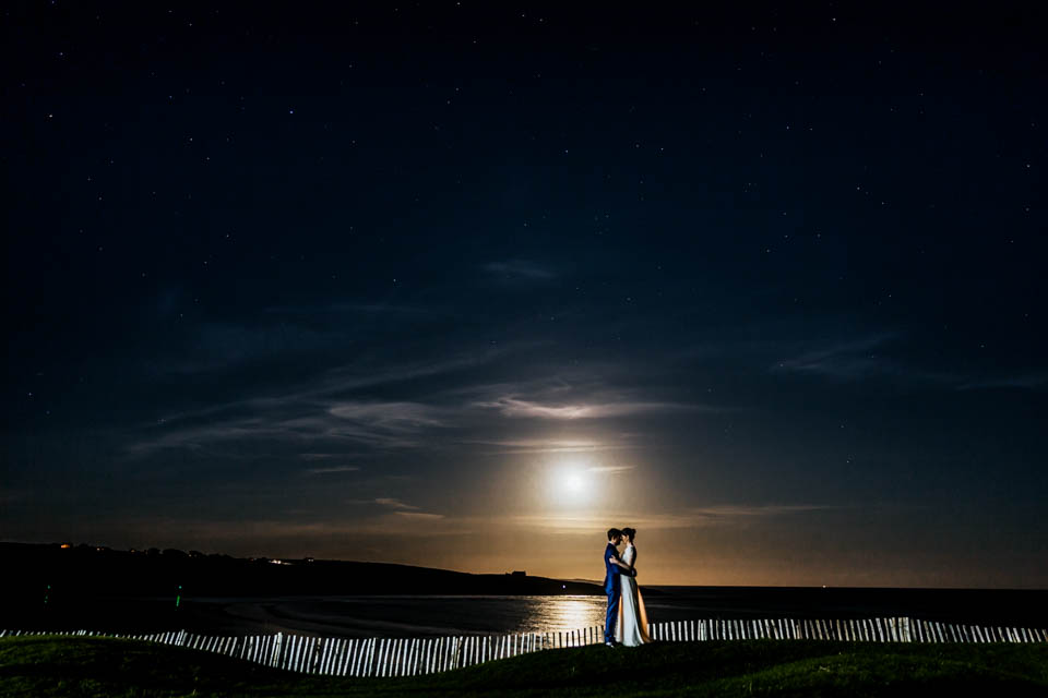 Inchydoney lodge and spa wedding romantic