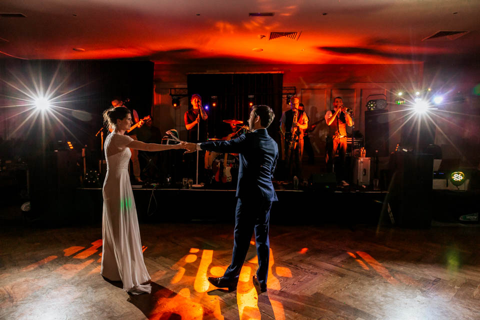 Inchydoney lodge and spa wedding first dance