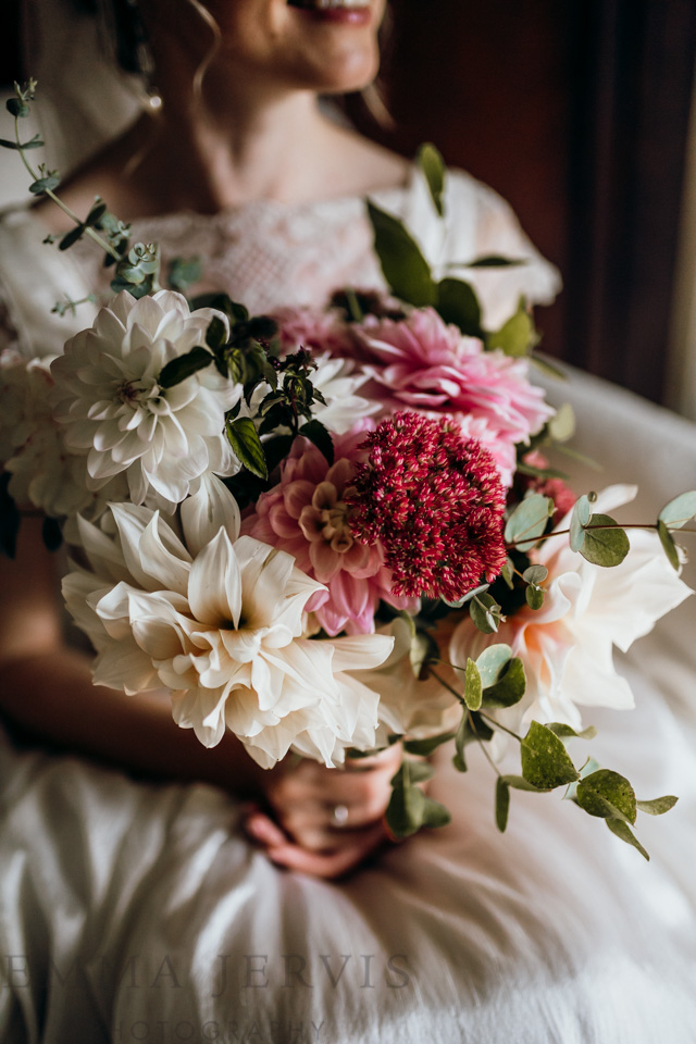 Barnabrow wedding bouquet by cork wedding photographer