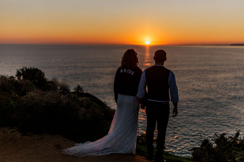 Algarve golden hour sunset shoot