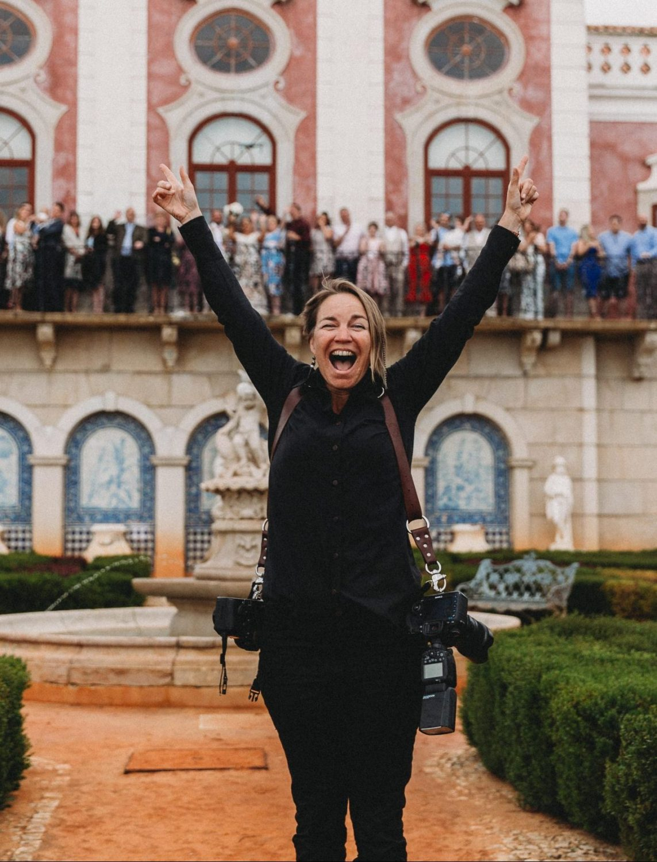 Cork wedding photographer at Palacio de Estoi Algarve
