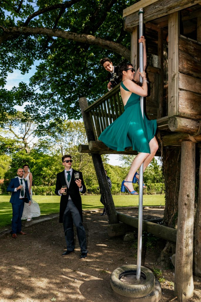 Ballinacurra house bridal party tree house