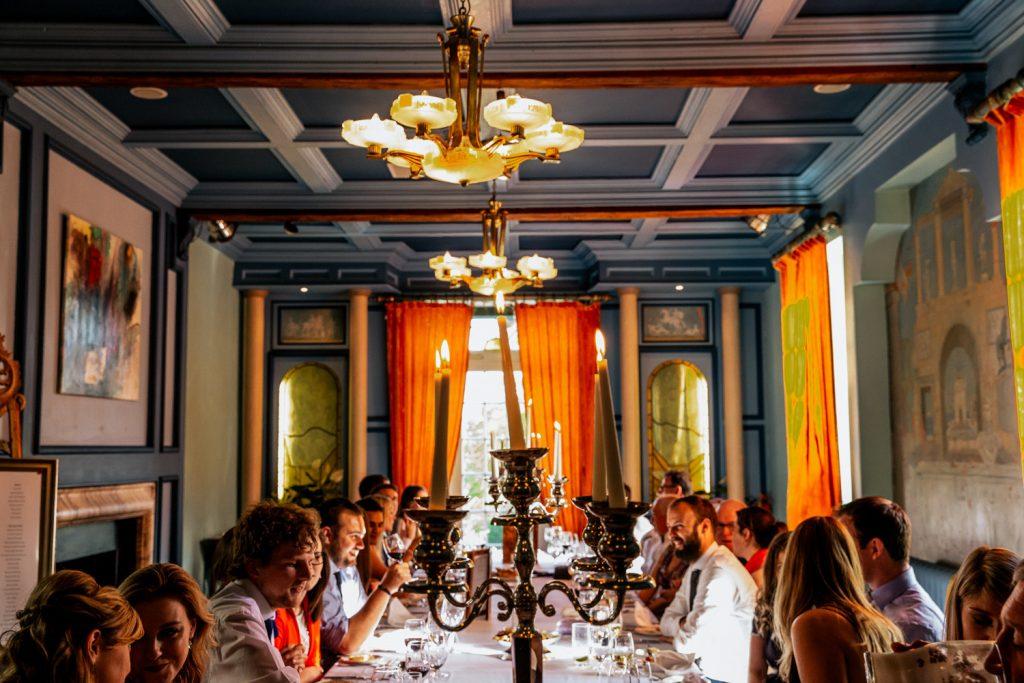 Ballinacurra house wedding table decor