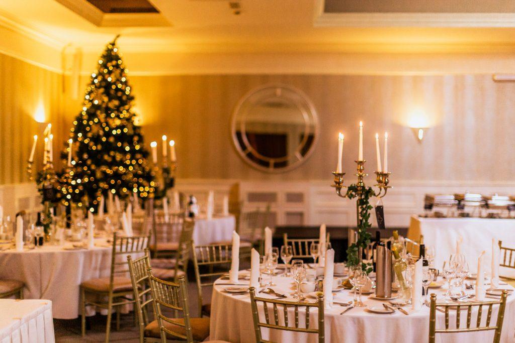 celtic ross hotel wedding decor