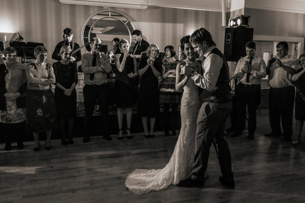 celtic ross hotel wedding first dance