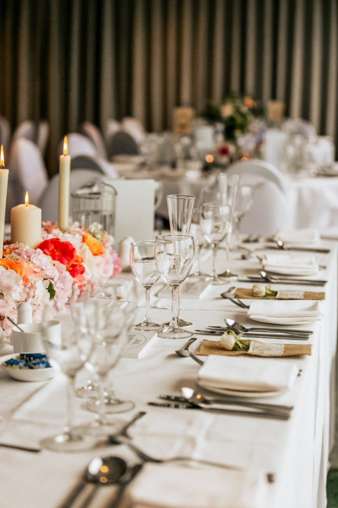 dunmore house wedding table decor