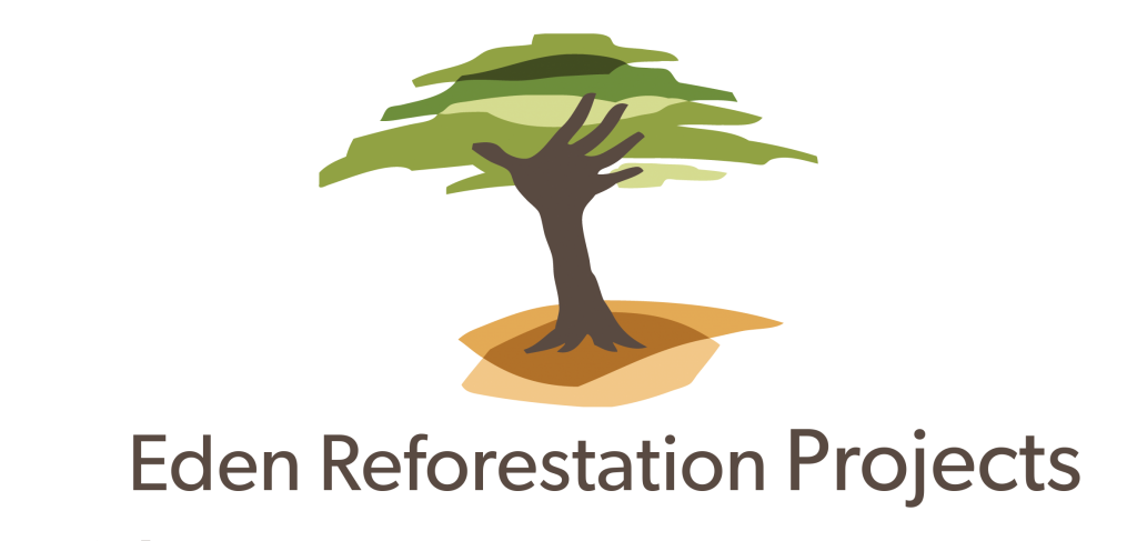 Eden reforestation project logo emma jervis