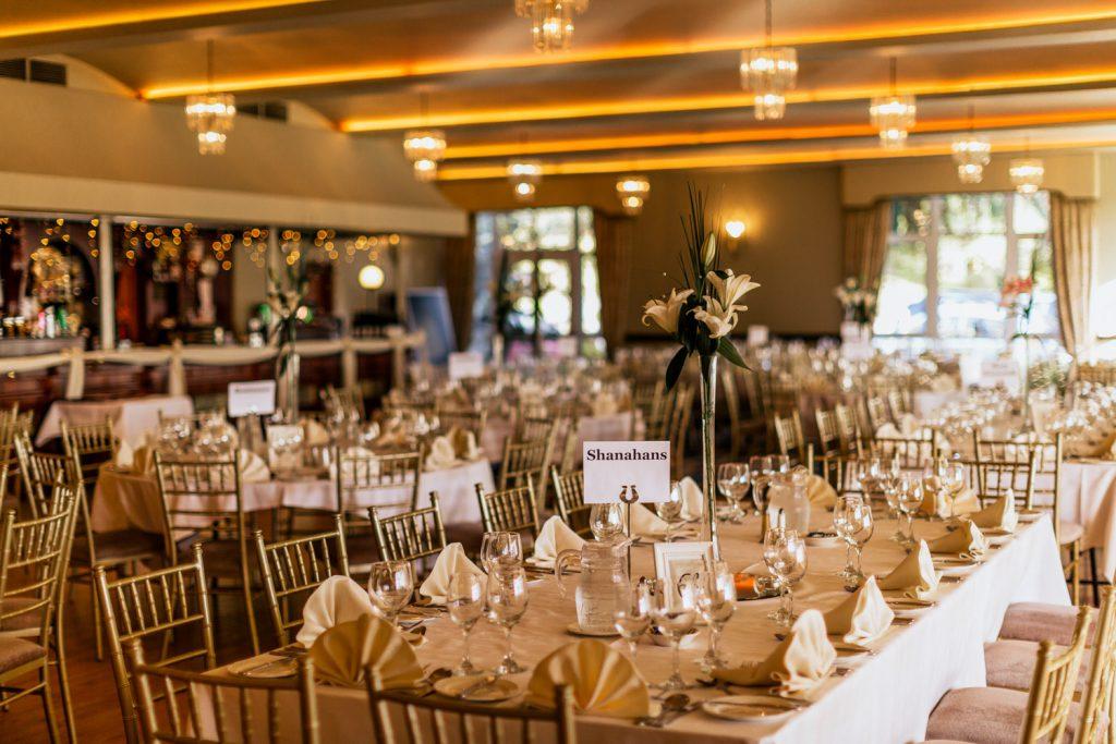 Fernhill house wedding table decor