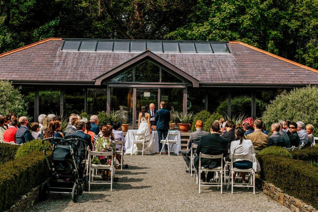 Inish Beg Estate walled garden wedding