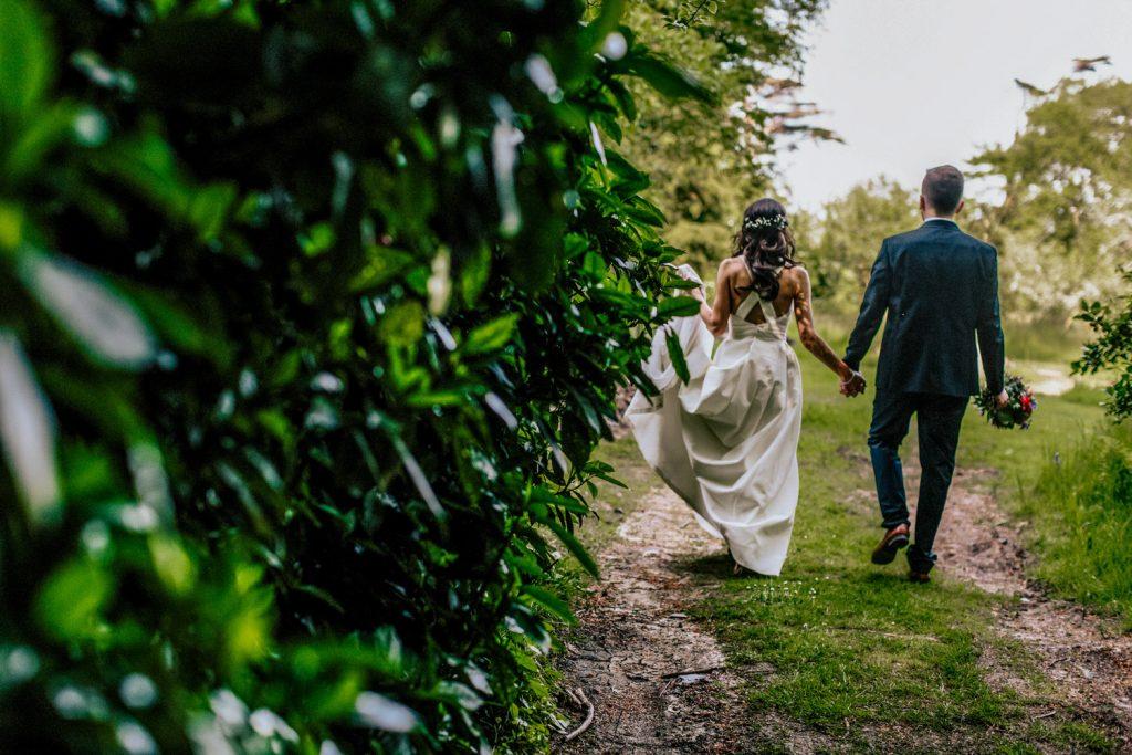 Inish Beg Estate wedding couple