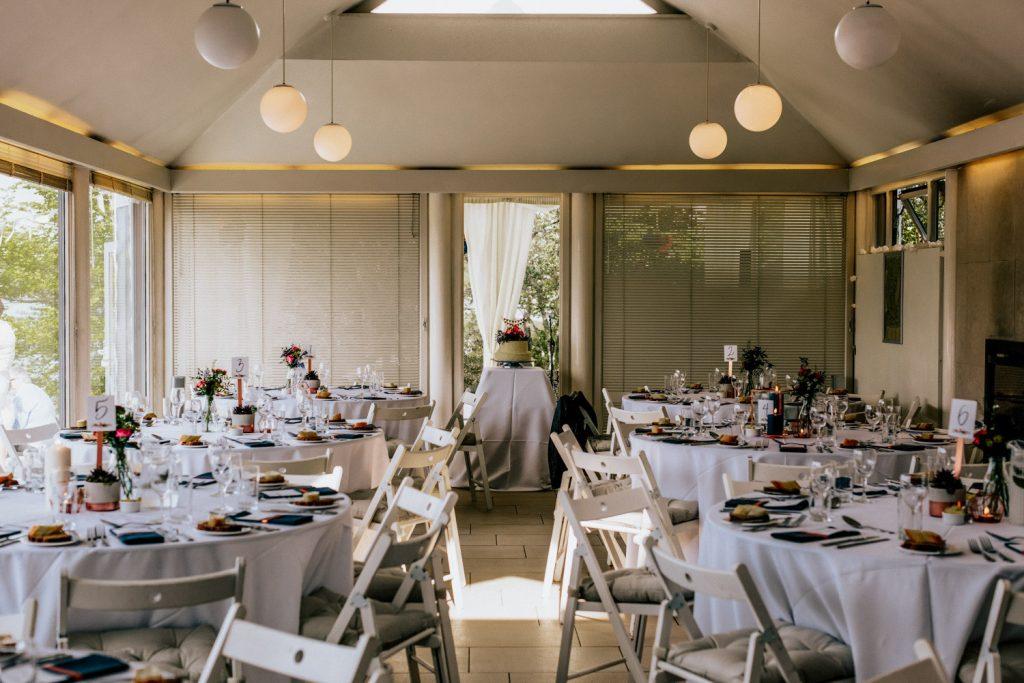 Inish Beg Estate wedding table setup
