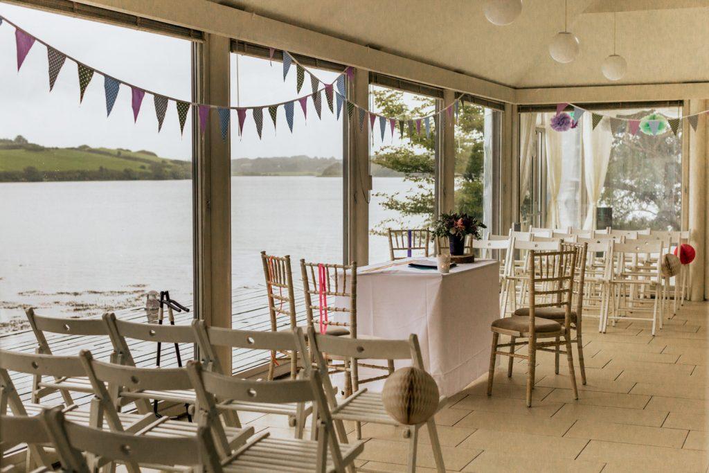 Inish beg estate wedding decor