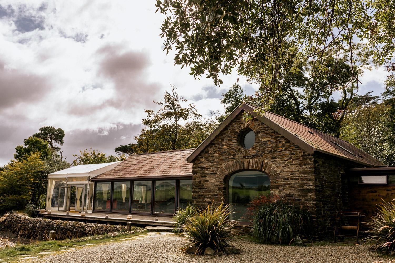 Inishe beg estate boat house