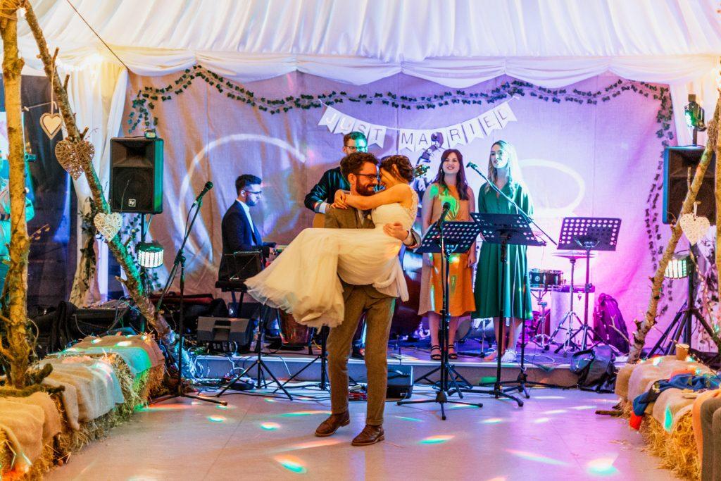 Inish Beg Estate octagon wedding first dance