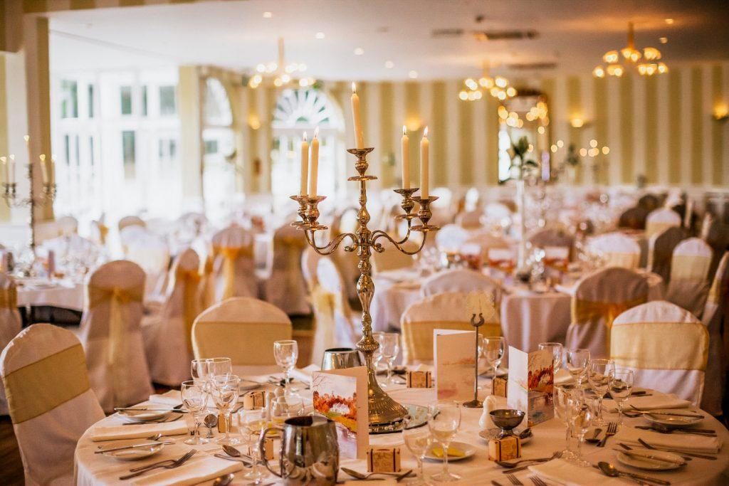 Innishannon house wedding table decor