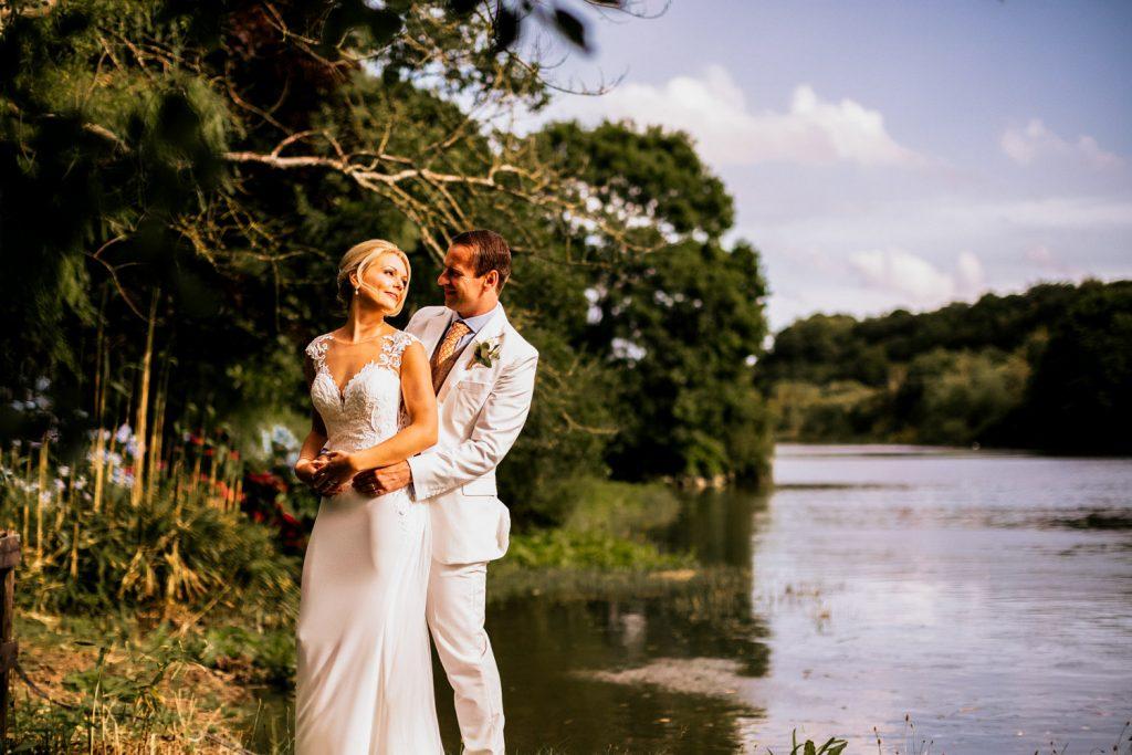 Innishannon house wedding couple