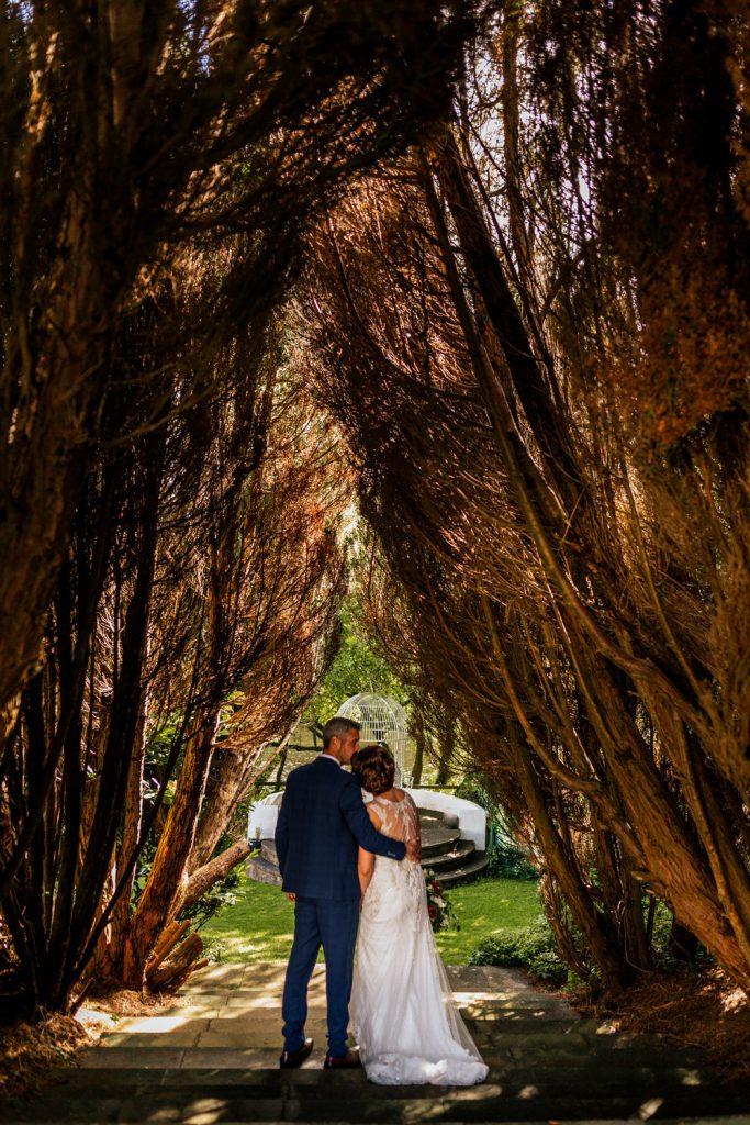 Innishannon House wedding venue couple