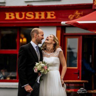 Wedding couple Bushes bar baltimore
