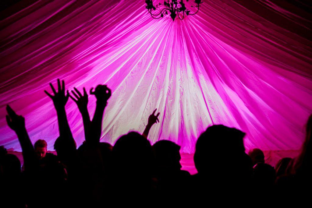 Liss Ard estate marquee wedding dancing