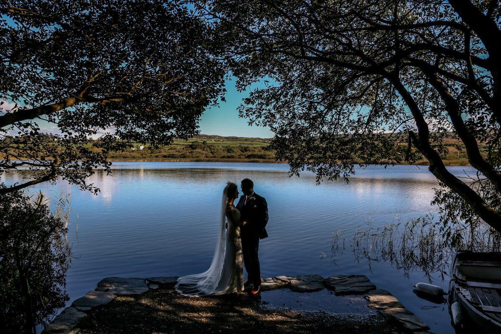 Liss Ard Estate wedding couple