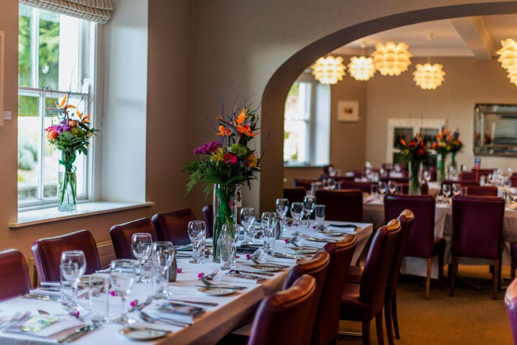 Liss Ard Estate wedding dining room