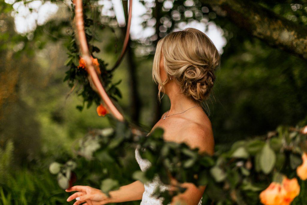 Liss Ard Estate wedding bride