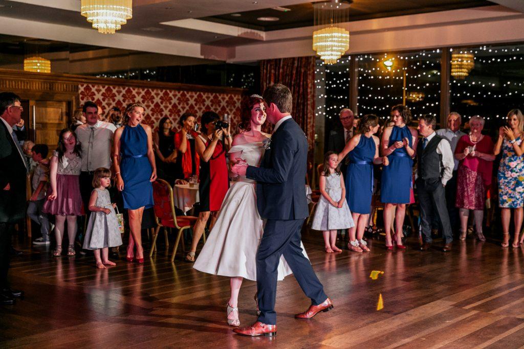 Maritime hotel wedding first dance