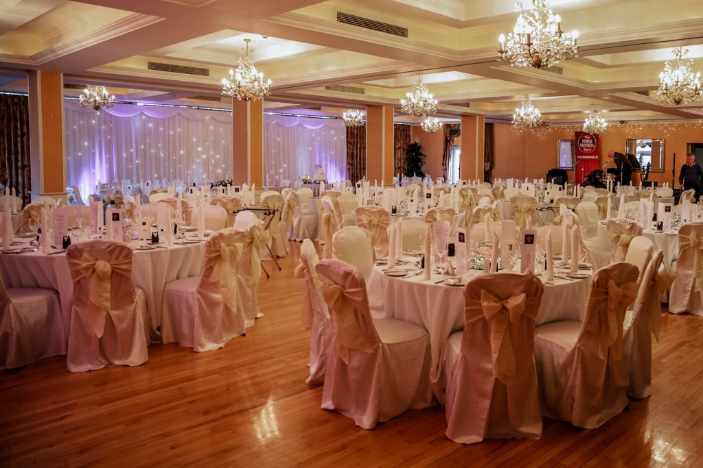 West Cork Hotel ballroom decor