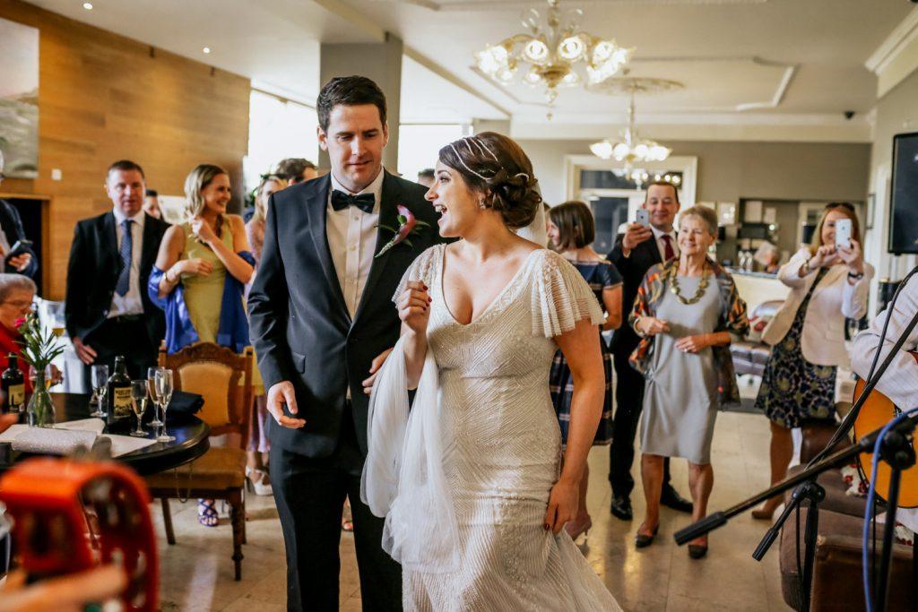 West Cork Hotel wedding couple