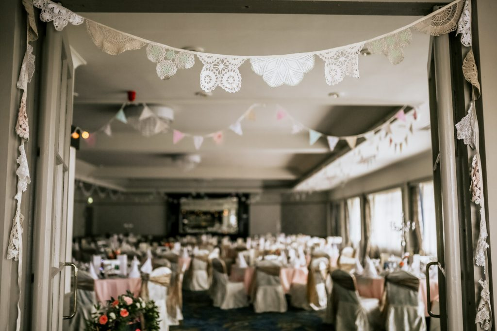 ACTONS HOTEL KINSALE WEDDING DECOR