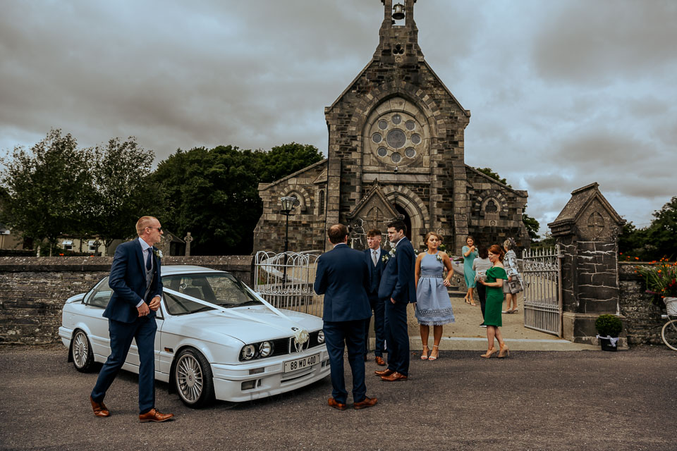 Kilcoe church  wedding during covid